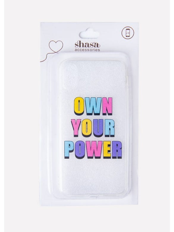 FUNDA CEL IX OWN YOU POWER