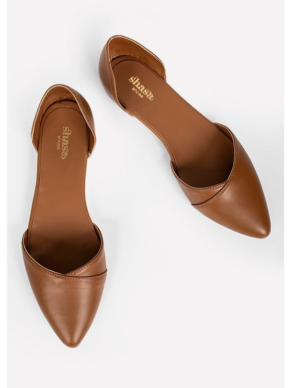 FLAT POINTY D'ORSAY PU