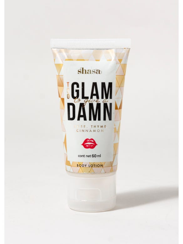 CREMA TOO GLAM TO GIVE A D