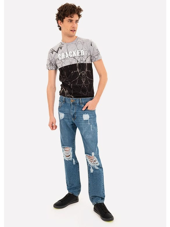 JEANS SKINNY FRENCH DENIM