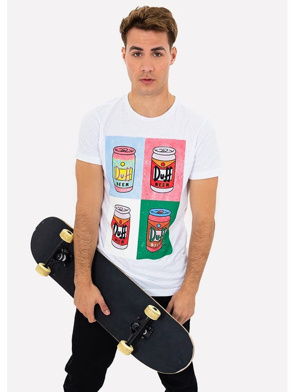 PLAYERA DUFF POP ART
