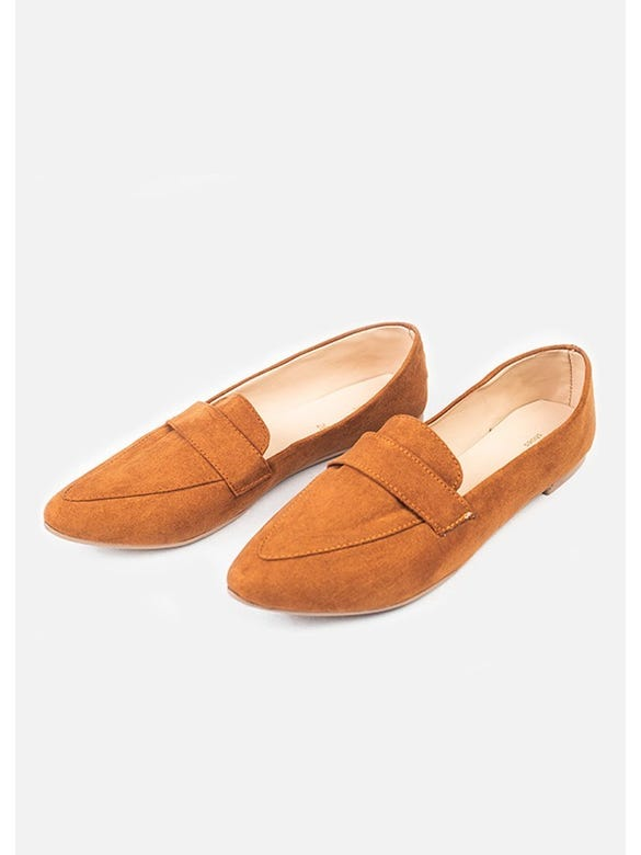 LOAFER POINTY GAMUZA