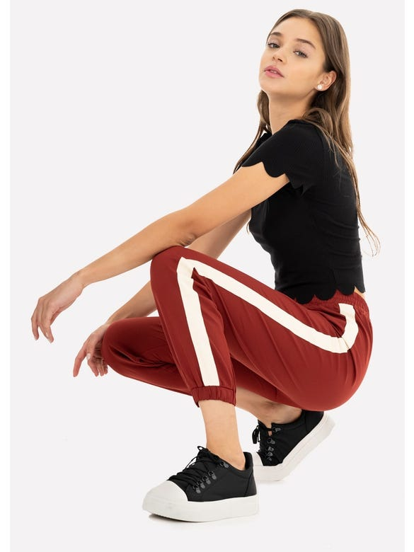 JOGGER PANTS CONTRASTE LATERAL