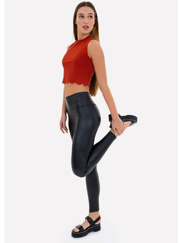 LEGGINGS VINIPIEL TEXTURA
