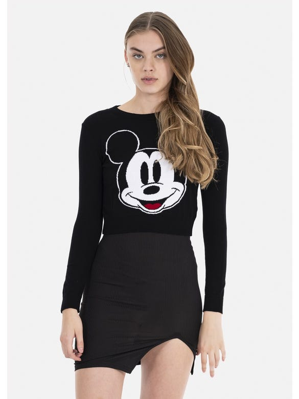 SUETER CROP MICKEY MOUSE
