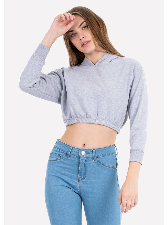 (BN)SUDADERA CROPPED LISA