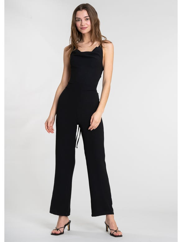 (SE)JUMPSUIT LACE UP ESPALDA