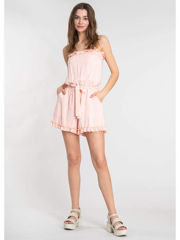 (FN)ROMPER LISO OFF SHOULDER