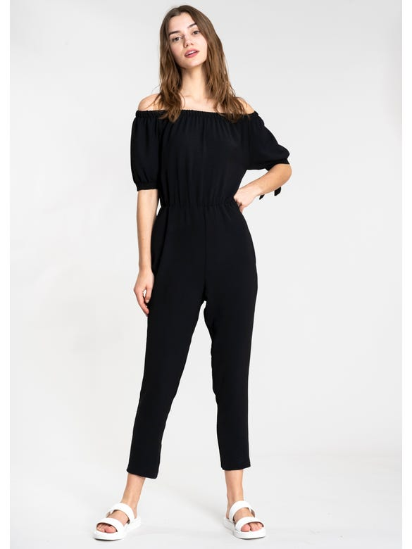 (NF)JUMPSUIT OFF SHOULDER
