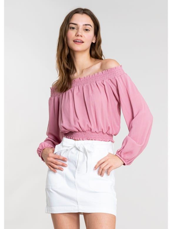 (FN)BLUSA OFF SHOULDER M/L