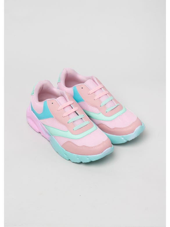TENIS CHUNKY COLORES PASTELES